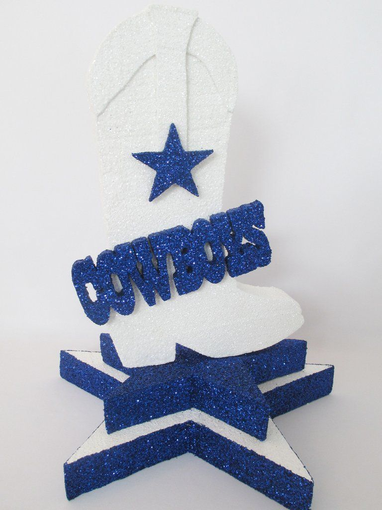 Cowboys Centerpiece – Designs by Ginny | Dallas cowboys | Pinterest ...