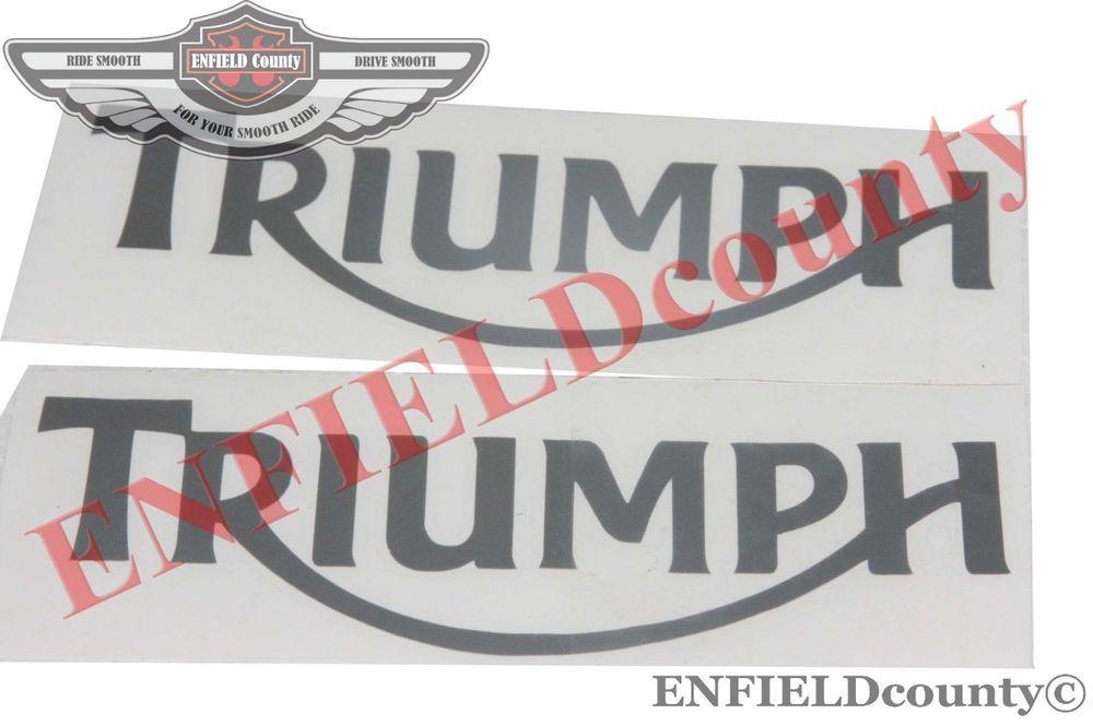 TRIUMPH 3TA 5TA T100 1949-63 PETROL FUEL TANK RUBBER KNEE PADS