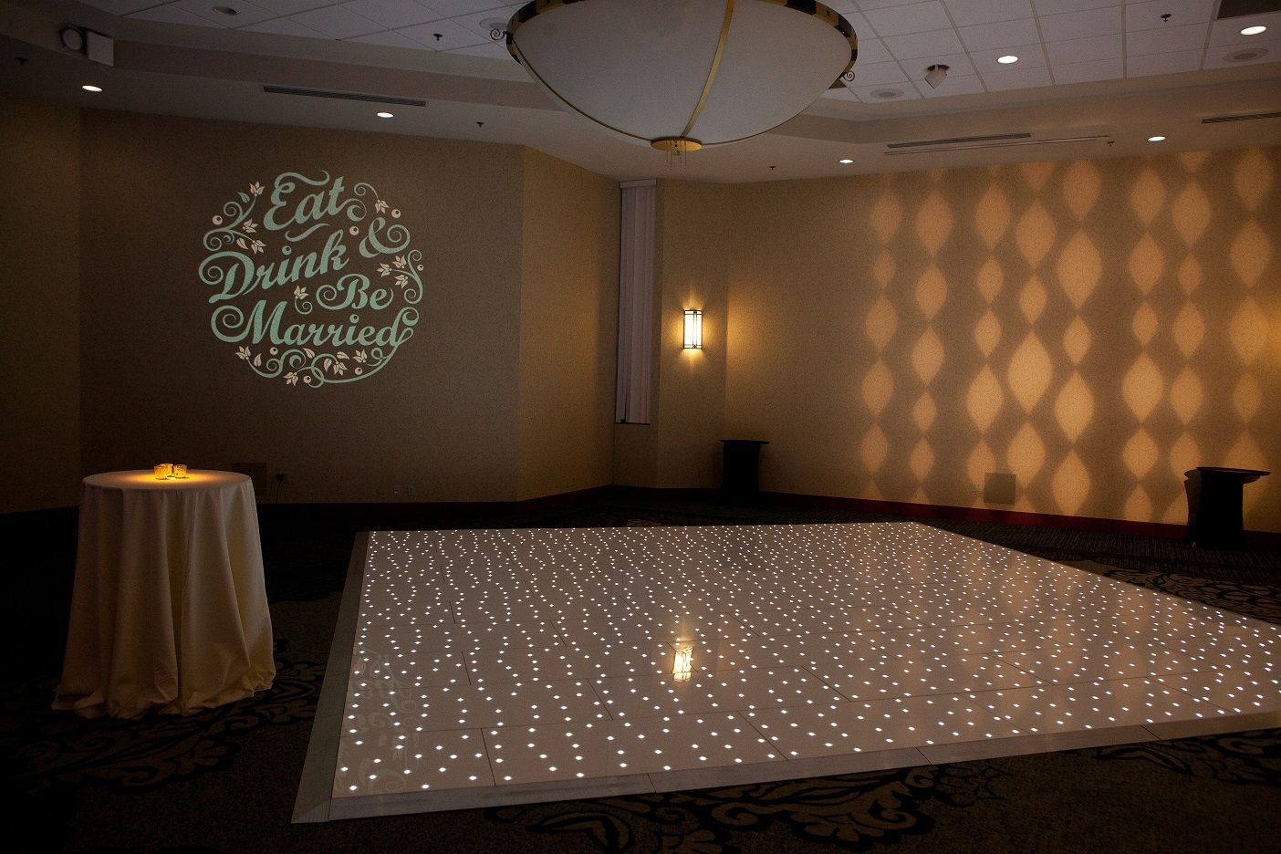Monogram Starlight Dance Floor and Wash Light on the wall provided by Sound Wave Events! Boise u0026 Salt Lake City Wedding DJ - Lighting - Dance Floor - Photo ... & Monogram Starlight Dance Floor and Wash Light on the wall ... azcodes.com
