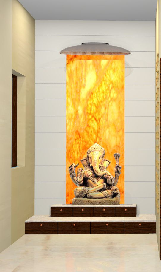 25 Best Images About Puja Room On Pinterest: Puja Room Glass Behind The Idol