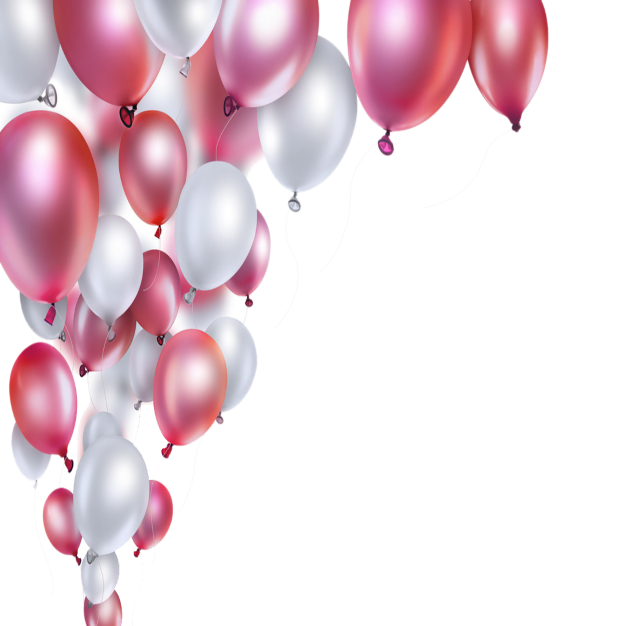 Pink And White Balloons White Balloons Balloons Birthday Balloons