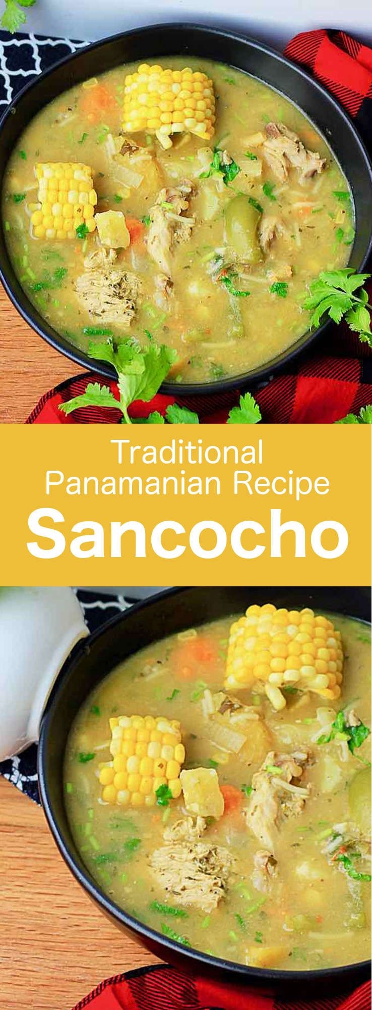 Sancocho is a traditional soup that is popular in several Latin American countries and which consists of chicken or beef and tubers via 196flavors