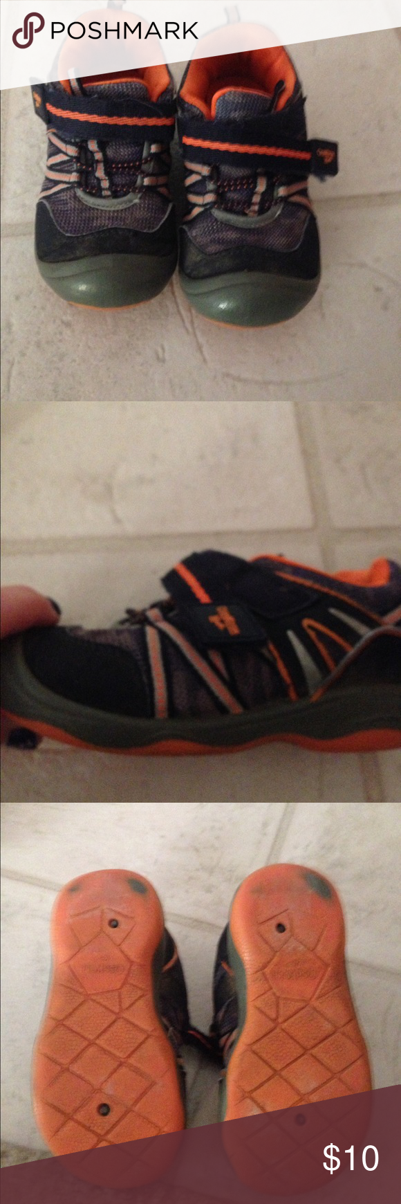 Oshkosh b gosh boys size 10 shoes Good used condition. Osh Kosh Shoes Sneakers