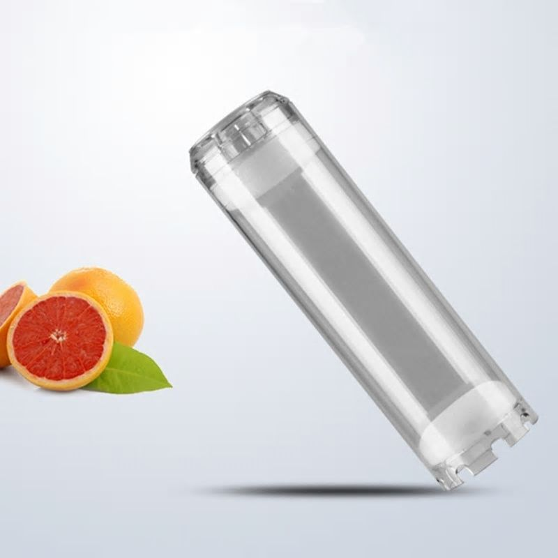 Clear 10 Empty Refillable Water Filter Cartridge Insert Water Filter Housing Can Fill Di Resin Activ Water Filter Cartridge Water Filter Housing Water Filter