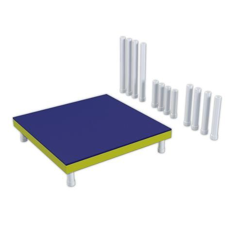 PVC Dog Agility Pause Table | Pawsome Projects | Pinterest | Dog ...