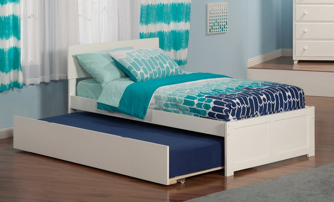 Wasilewski Platform Bed with Trundle Bed with drawers