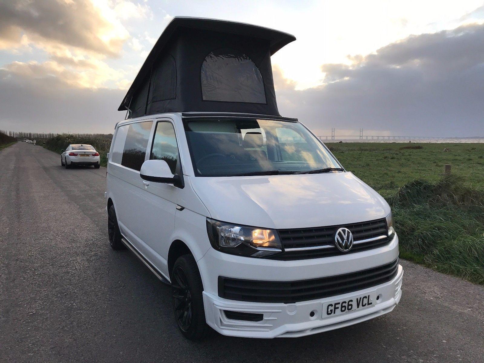Volkswagen Transporter T6 Campervan 2016 12000 Miles Skyline Poptop Roof 4 Berth