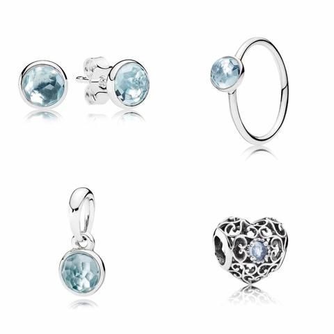 pandora earrings birthstone