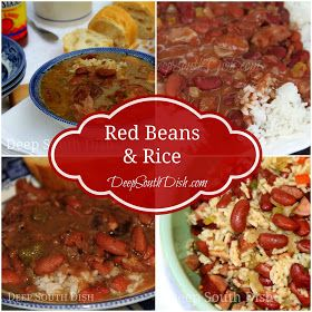 Deep South Dish: Red Beans and Rice