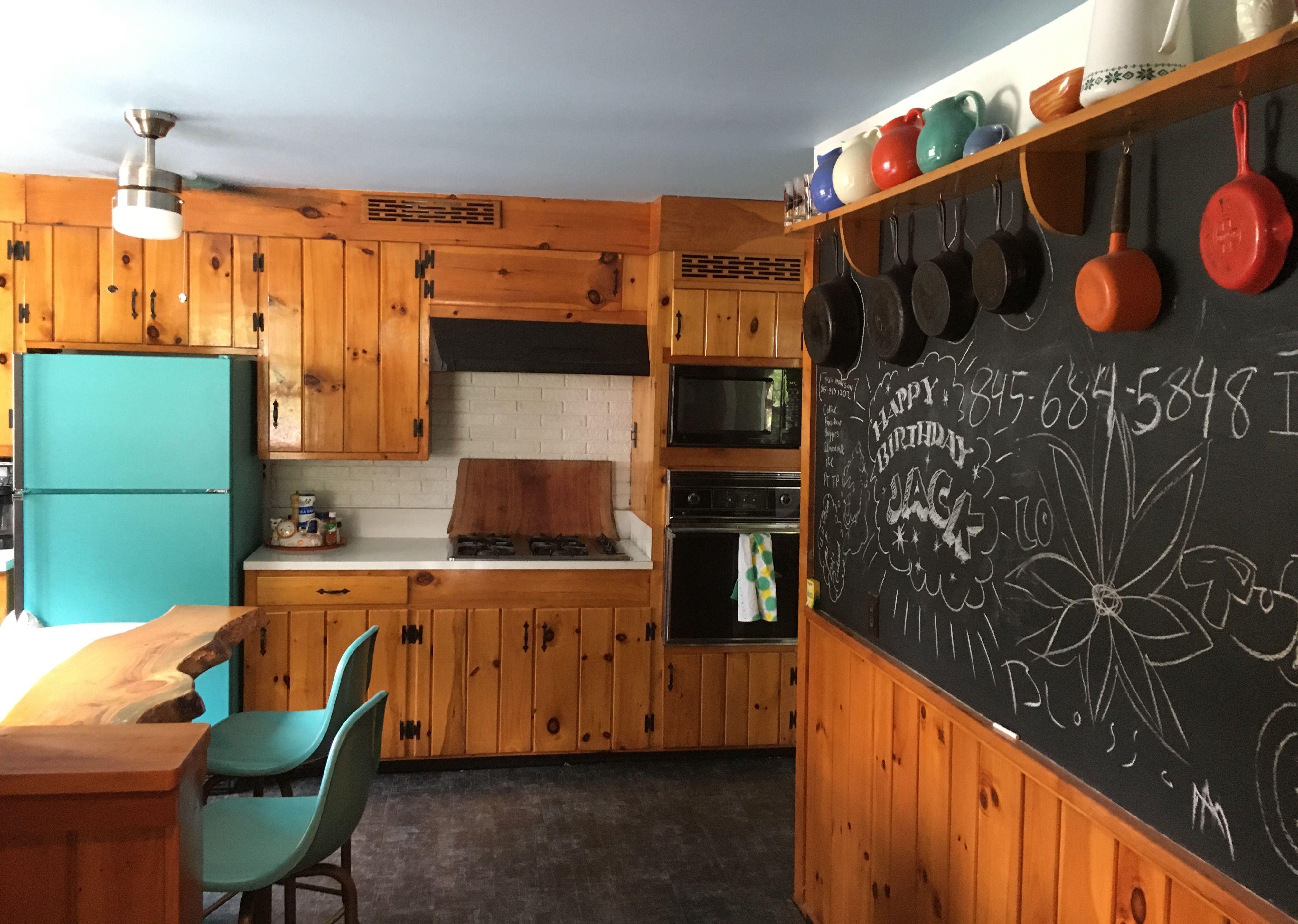 Pin by Nancy Geaney on Knotty pine kitchen Pinterest