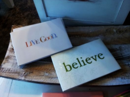 inspirational books - live good and believe $12.95- $14.95