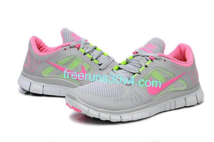 wholesale dealer 41d0e fd4b7 Womens Nike Free Run 3 Grey Pink Electric Green Shoes   Nike Free 3.0 V4,Nike  Free Run 3, Nike Free 4.0, Nike Free Run 2 For Sale