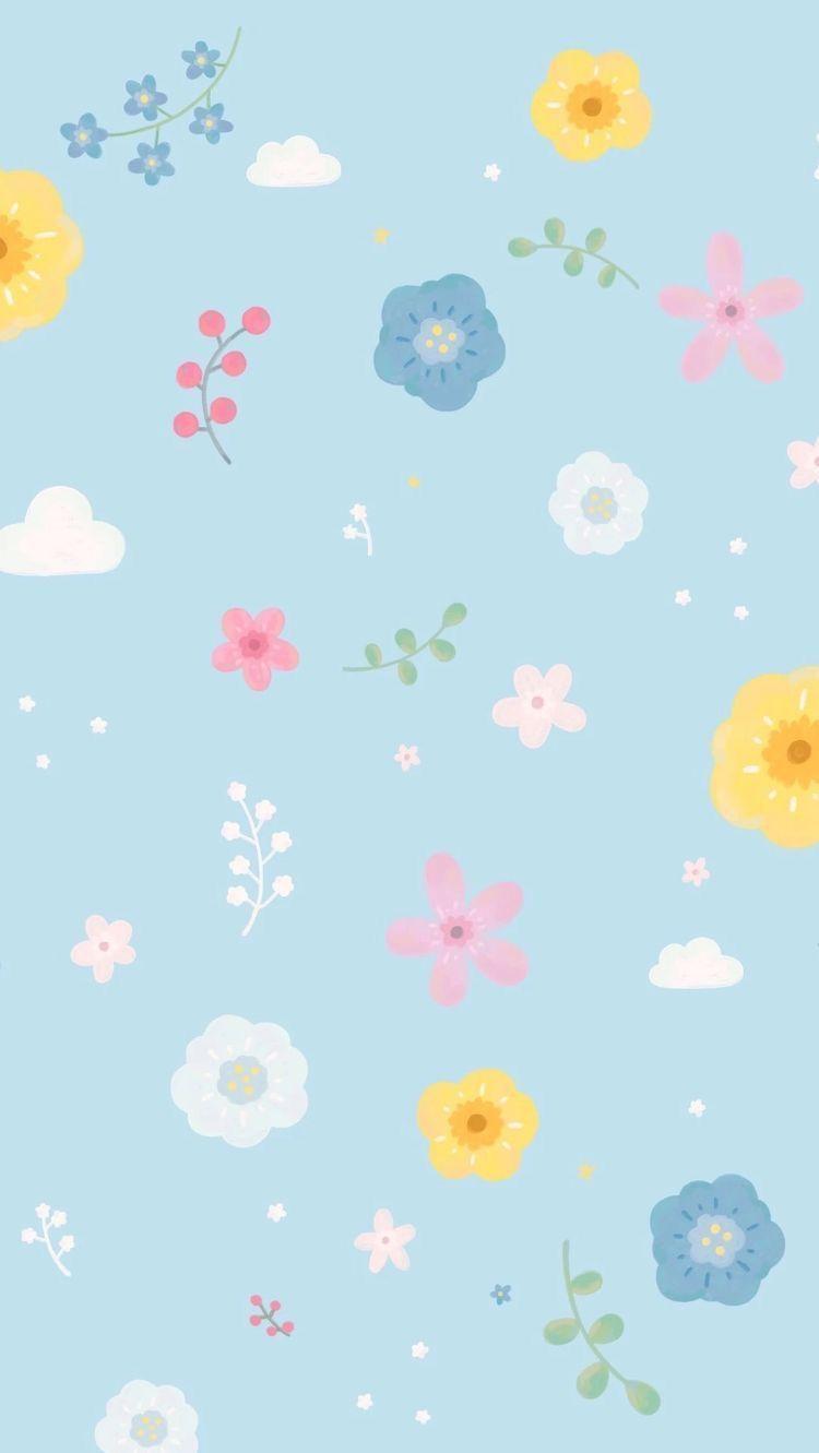 Flowers Wallpaper 壁紙 素材 可愛い壁紙 背景