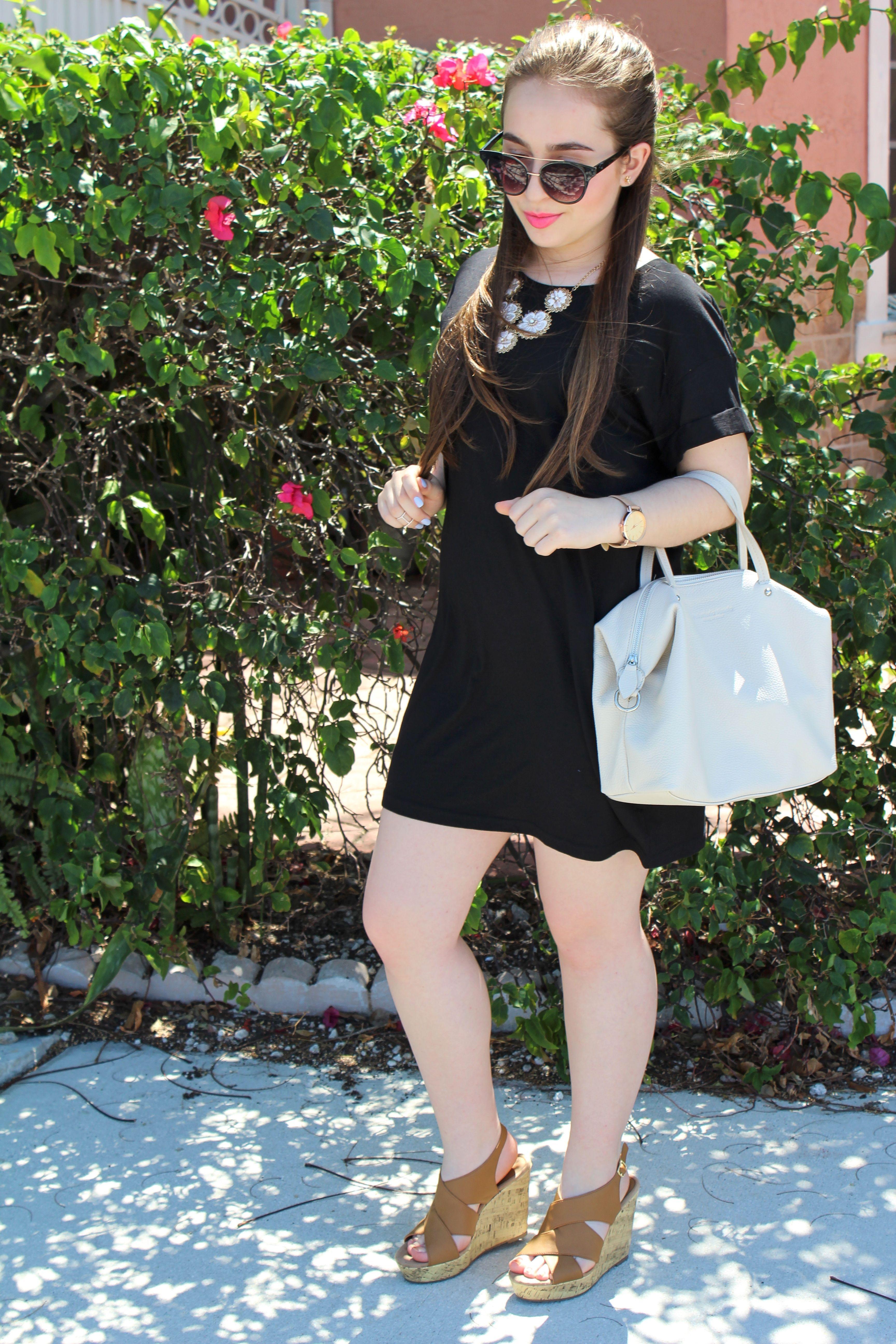 The T Shirt Dress Favorite Moment This Week Black Brows T Shirt Dress Black Leather Handbags [ 5184 x 3456 Pixel ]