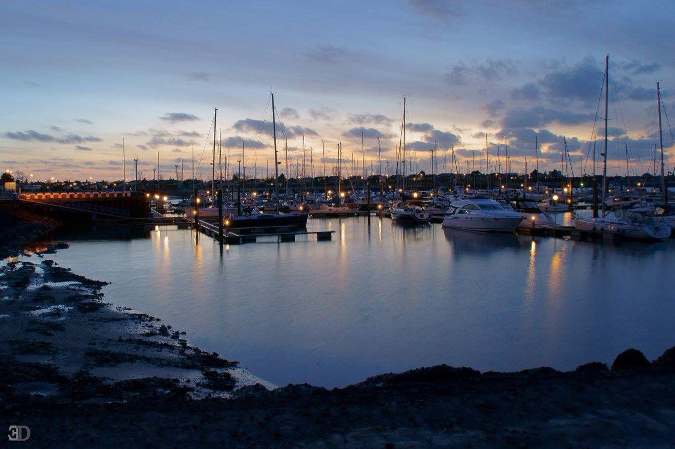 Wunderschöne Nordsee am Abend