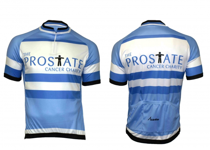 Prostate cancer charity cycling jersey  1cd1092db