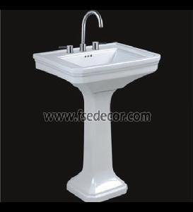 North American Standard Upc Pedestal Sink Fse Pps 1415