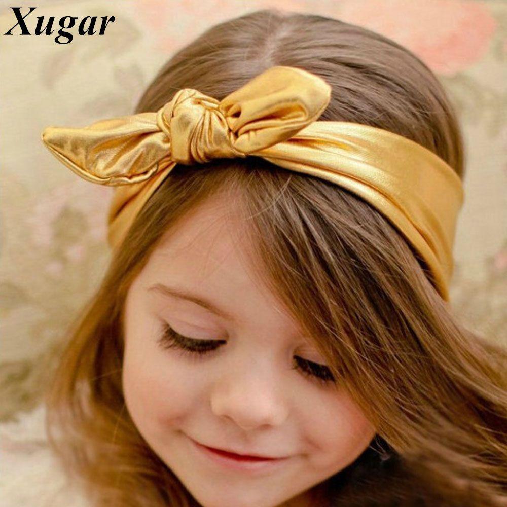 Hot sale rabbit bunny ear headband solid lovely headbands for baby