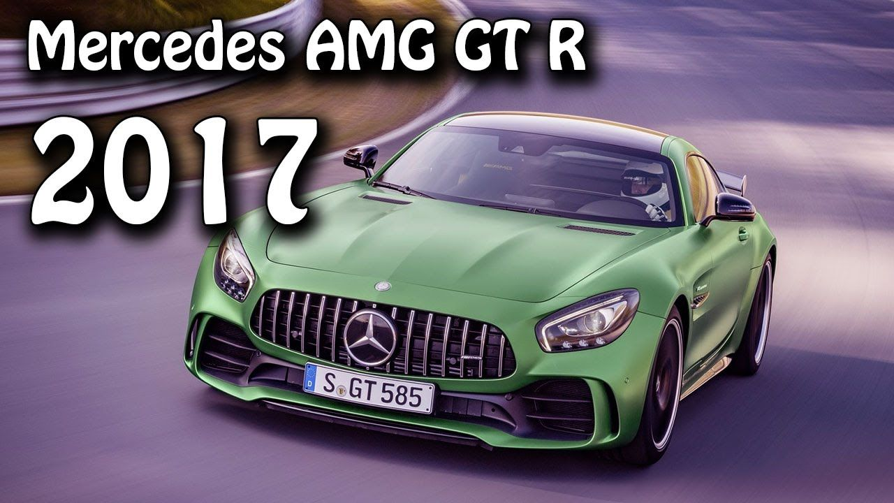 2017 Mercedes Benz Amg Gt R Twin Turbo V 8 585 Hp Performance