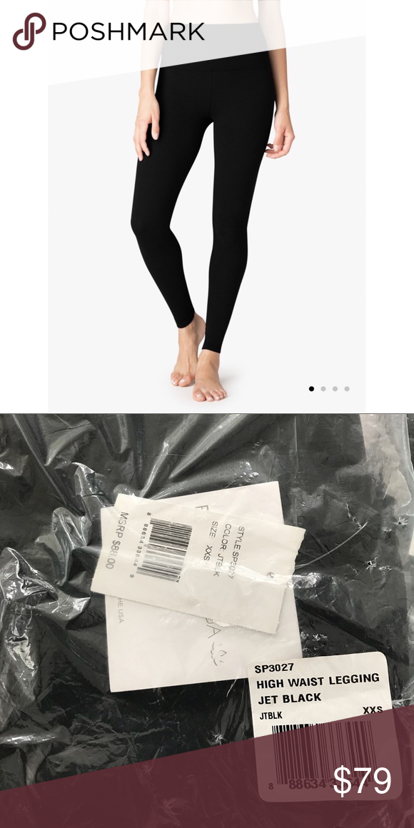 8099a7f53ac1b5 Beyond Yoga High Waist Legging NEW WITH TAGS! I haven't even taken them out  of the packaging. Beyond Yoga Jet Black High Waist Legging in size XXS.