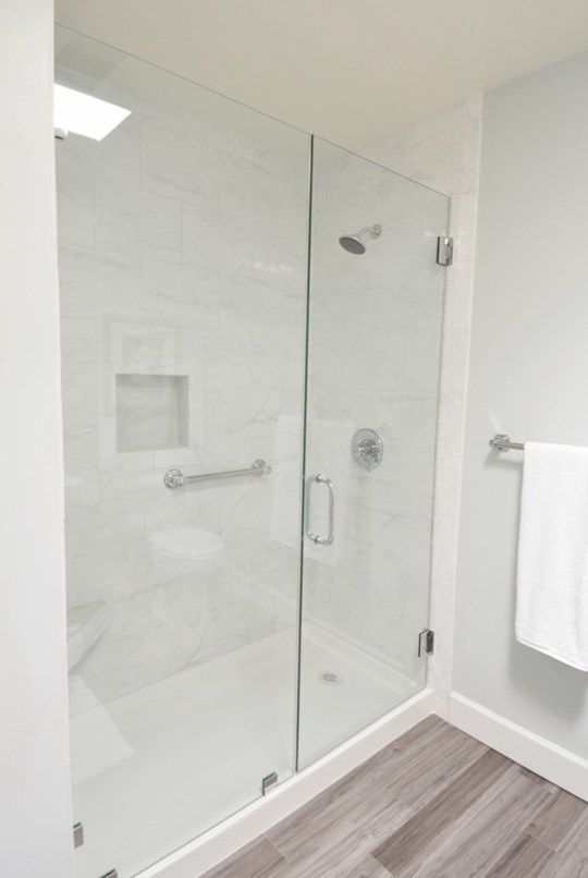 Walk In Shower Side View With Images Tub To Shower Conversion