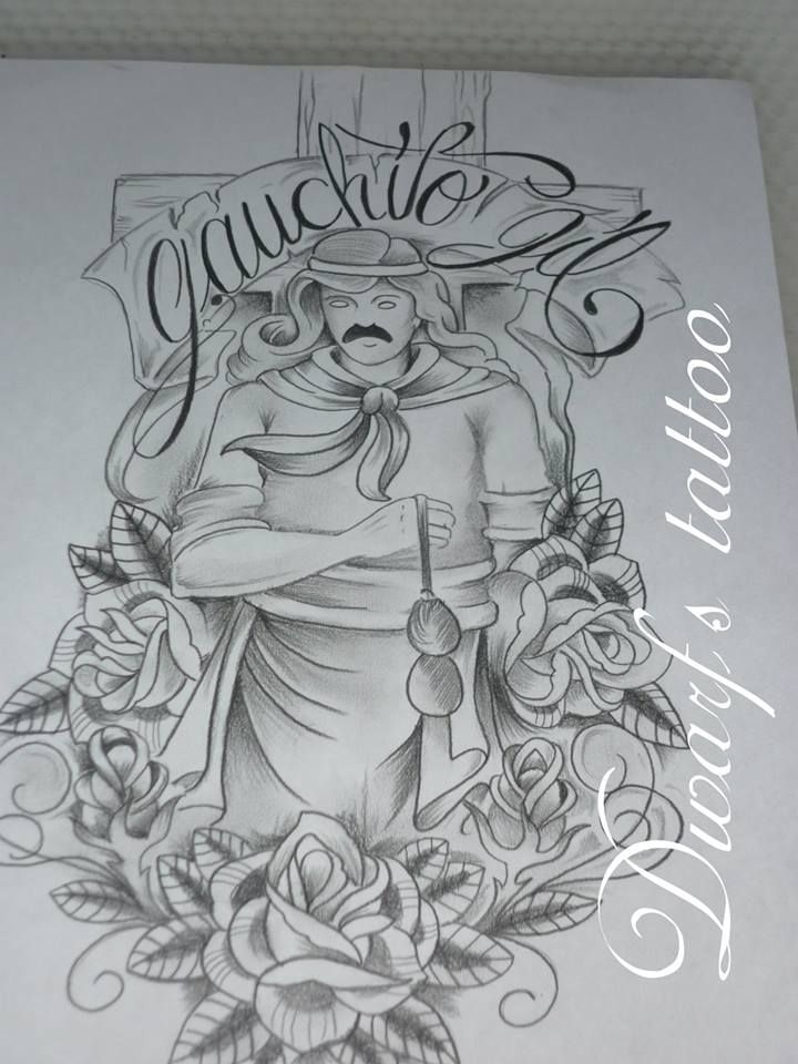 Diseno Del Gauchito Gil Gauchito Gil Gaucho Tatuajes Religiosos