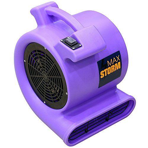 Max Storm Purple 2550 Cfm Durable Lightweight Carpet Dryi Https Www Amazon Com Dp B007t01jjk Ref Cm Sw R Pi Dp X Floor Fan Storm Carpet Cleaning Business