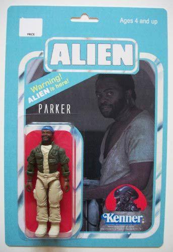 Alien figure - Parker - Popsfartberger