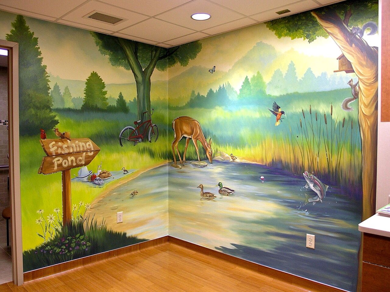 Marshfield Clinic Pediatric Oncology Custom canvas mural www ...