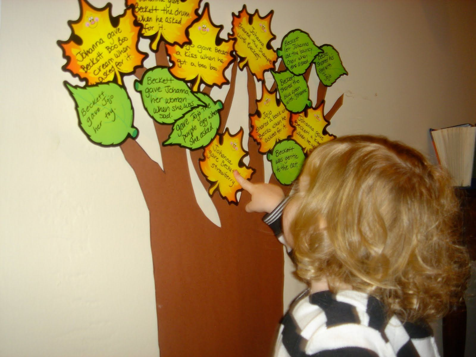 Kindness Tree Have Your Children Name Ways That They Can