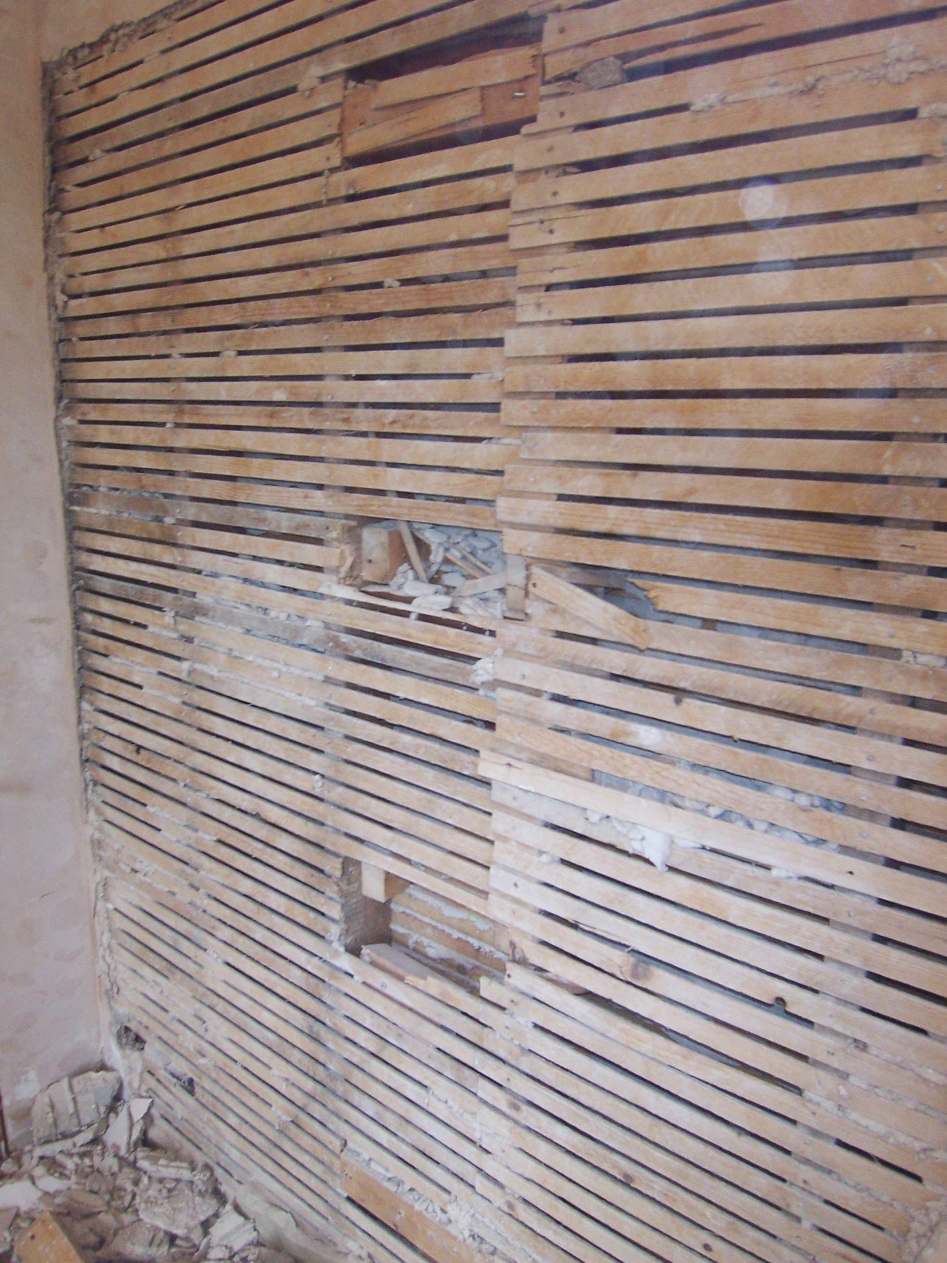 how to repair plaster walls and ceilings