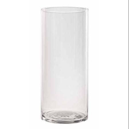 Pack Of 5 Multi Purpose Glass Cylinder Flower Vase Pillar Candle
