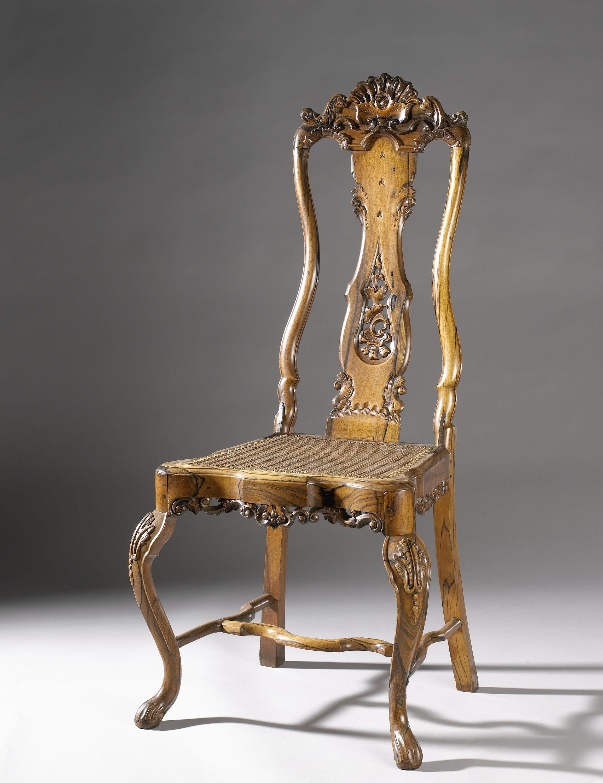 Chair, Sri Lanka, 1750. Rijksmuseum, Public Domain Chair