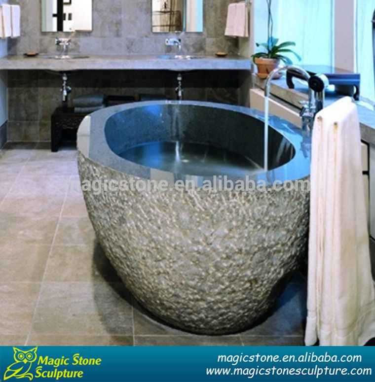 Magic Stone Sculpture Granite Bathtubs Made In China - Buy Marble ...