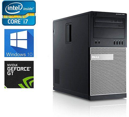 Dell Gaming 990 Desktop Computer Optiplex Intel Core i7 34 upto 38GHz 2600  CPU NEW 1TB Solid State Hybrid 8GB DDR3 Memory WiFi Windows 10 Pro Nvidia  GT710 ... 051ac5f19bcb