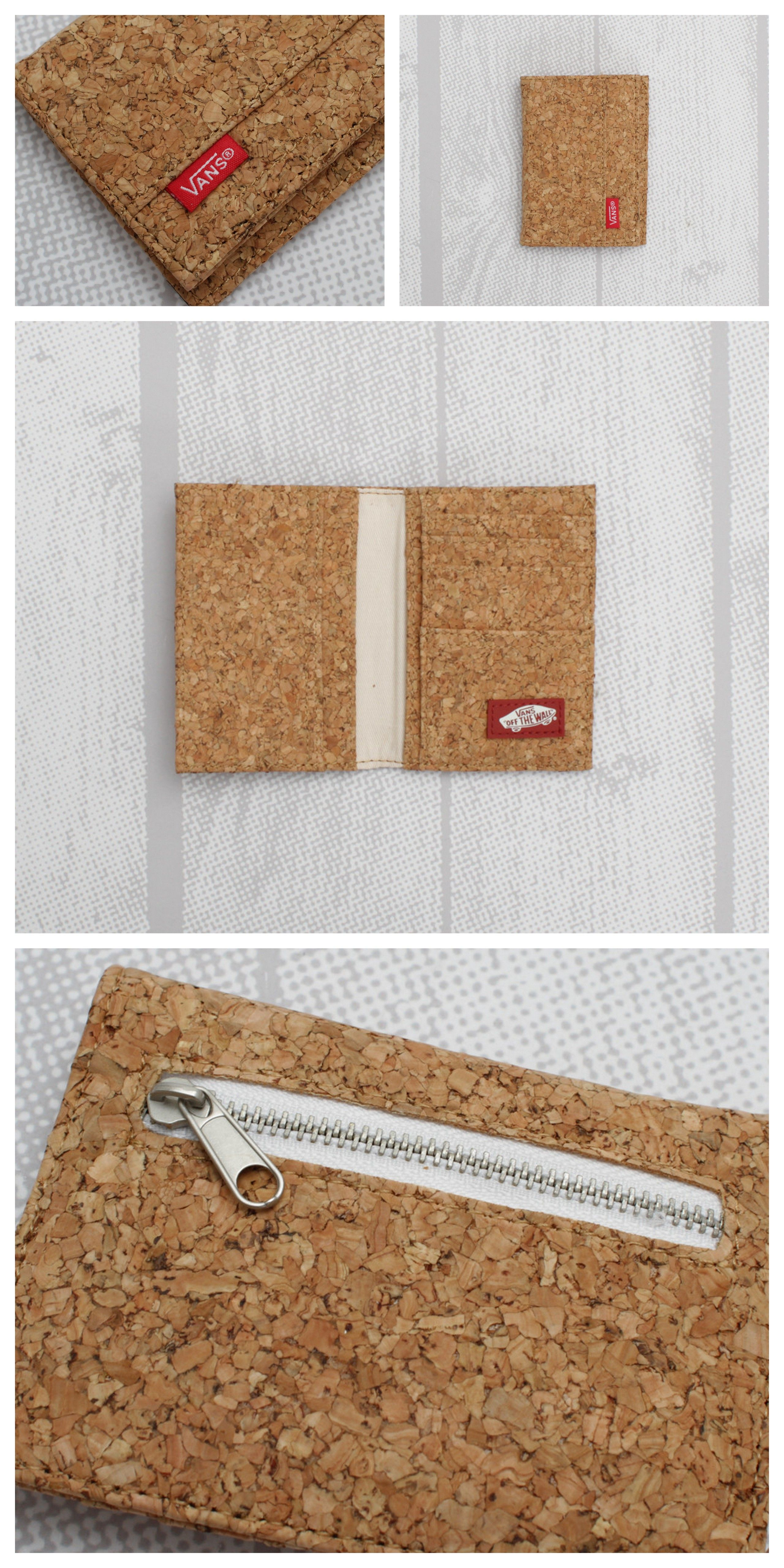 Vans Authentic Bi-fold Wallet (Cork)