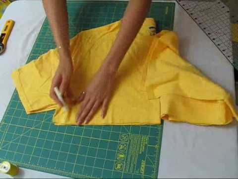 How to make a romper out of a T-Shirt