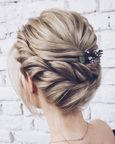 Crown Braided Updo Hairstyle Ideas Frisyr Brud Frisyrer Vackert Har
