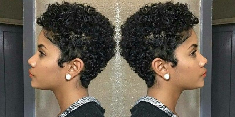 Short Natural Curly Pixie Haircuts Natural Hair Styles Curly Hair Styles Short Hair Styles Easy