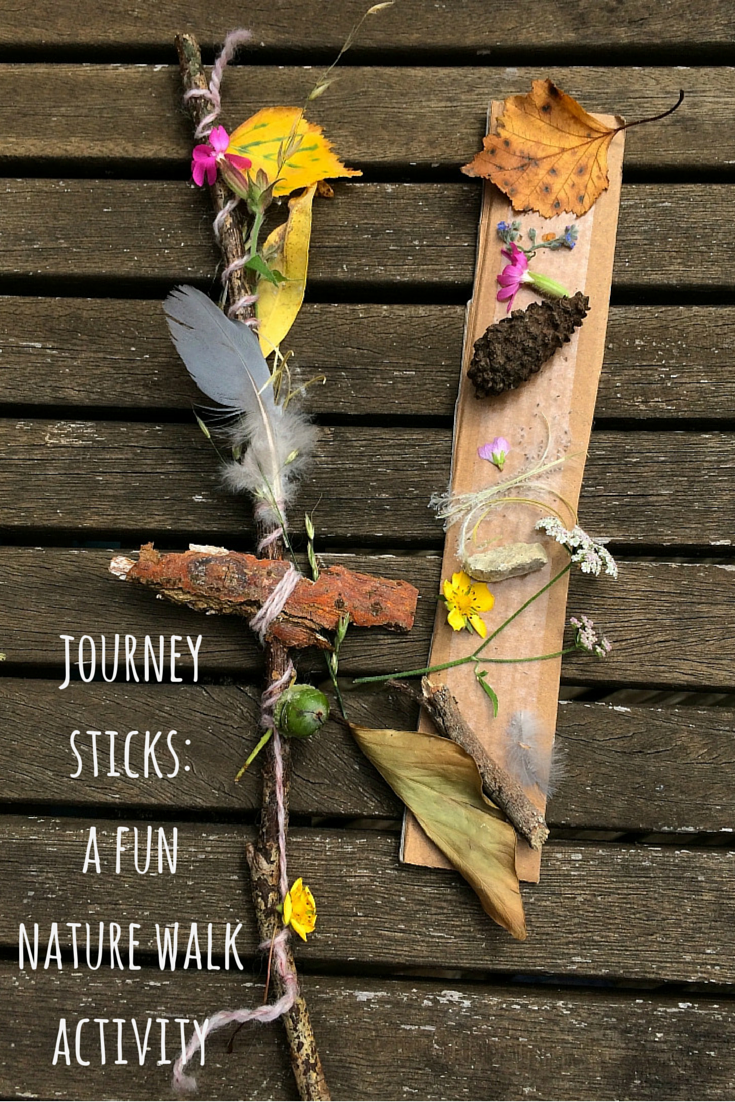Nature Craft Making A Journey Stick Camping And Survival