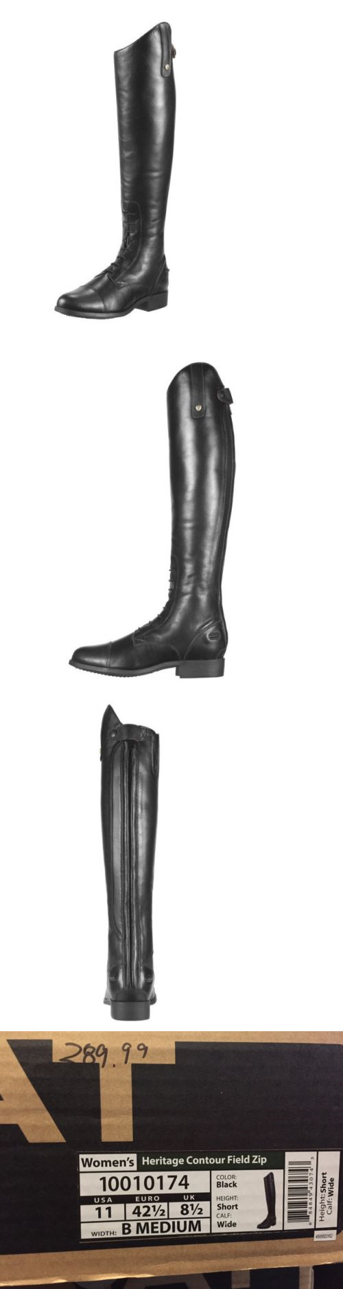 Other Riding Boots and Accs 46076: Ariat Heritage Contour Field ...