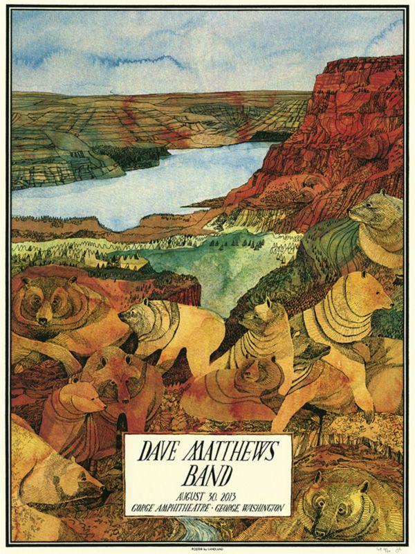 Jessica Seamans Dave Matthews Band The Gorge Aug 30th Night 1