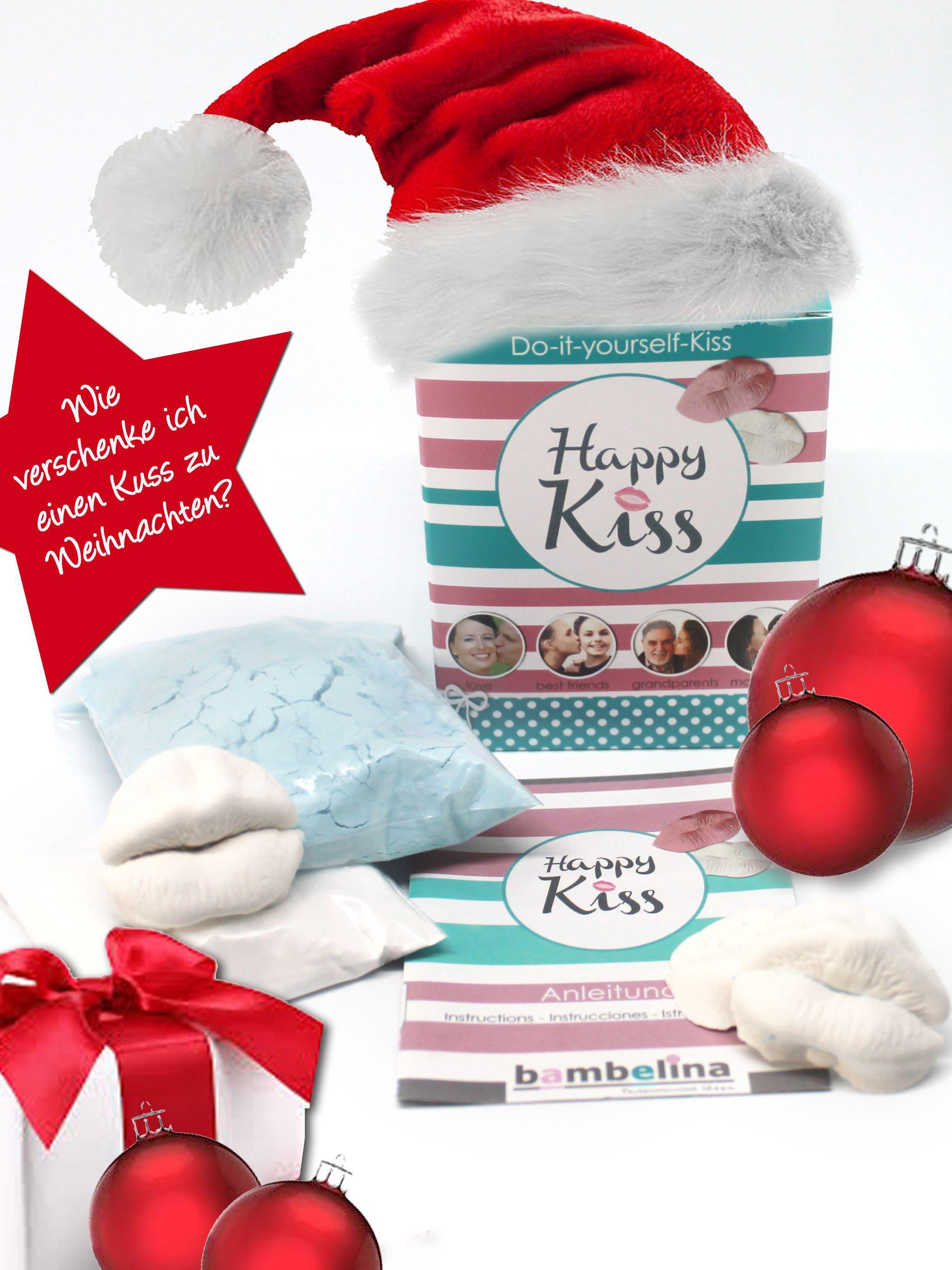 Wie verschenkt man einen Kuss. Die Geschenkidee zu Weihnachten ...