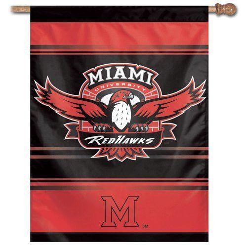 "Miami University Banner/vertical flag 27"" x 37"""