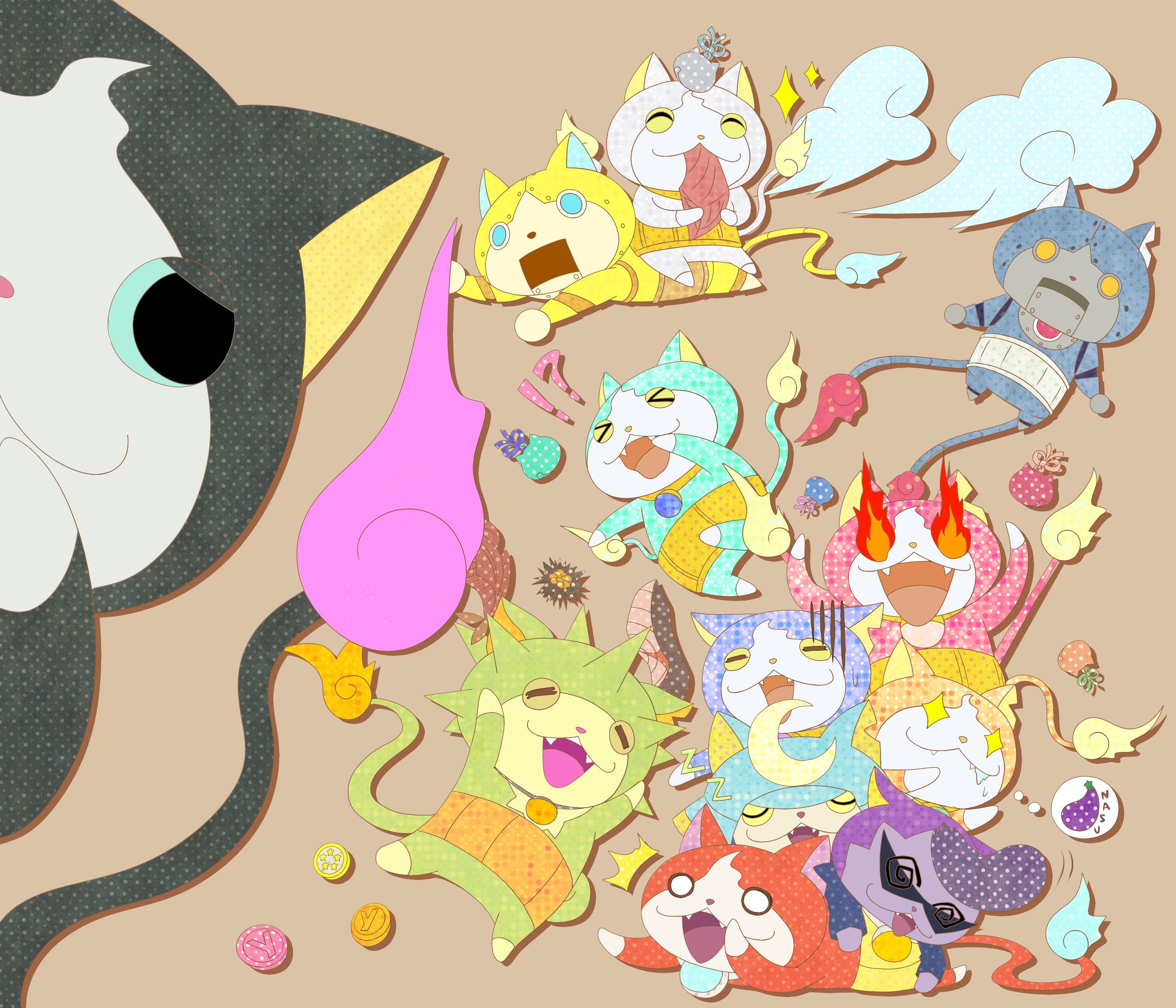 27 Best Yokai Watch Images Youkai Watch Bento Recipes