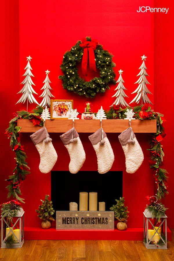 las navidades se disfrutan ms cuando estamos juntitos alrededor de una chimenea y en jcpenney encontrars los mejores pinteres