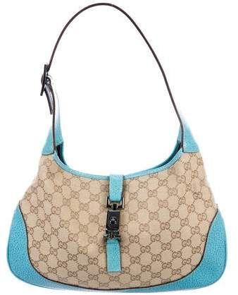 2066b6c3e GG Canvas Jackie Bag | Products | Bags, Gucci jackie bag, Shoulder bag