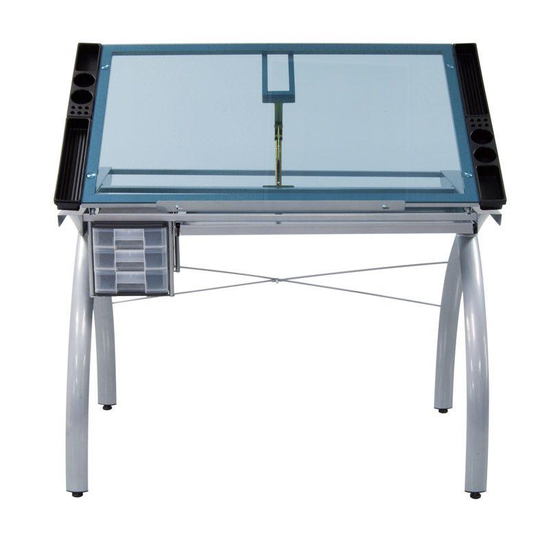 Online Catalog » Futura Craft Station (Silver/Blue Glass)