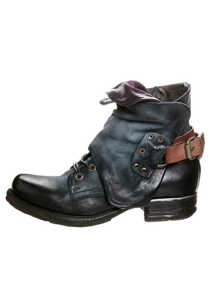Or These Airstep A S 98 Cowboy Biker Boots Size 5 38 Airstep
