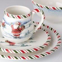 Kathy Ireland Home By Gorham Once Upon a Christmas dinnerware #KathyIreland #OnceUponaChristmas #Gorham & Kathy Ireland Home By Gorham Once Upon a Christmas dinnerware ...